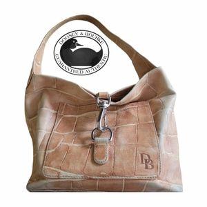 Dooney & Bourke Pink Animal Print Hobo Bag